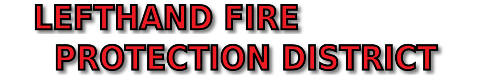 LEFT HAND FIRE PROTECTION DISTRICT