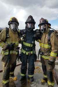 structural fire fighters